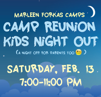 Camp Reunion Kid's Night Out