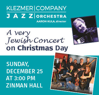 A Very Jewish Concert on Christmas Day