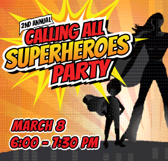 Calling All Superheroes Party